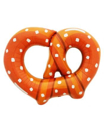 Foil balloon pretzel
