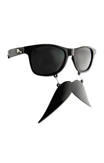 Brille mit Mexikaner Schnurrbart
