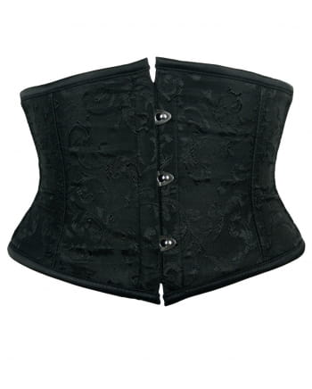 Brocade Bodice Black