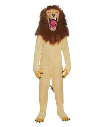 Löwen Kostüm mit Vollkopfmaske