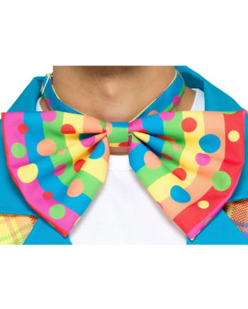 Colorful Clown Bow Tie