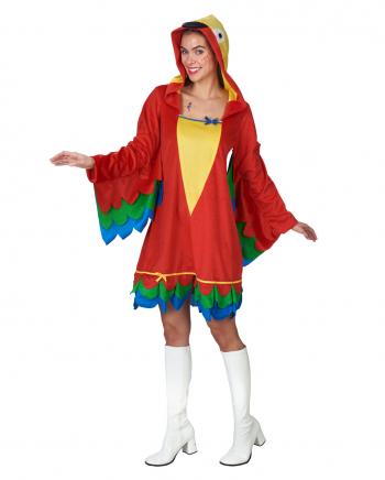 Papagei Kostüm mit Kapuze