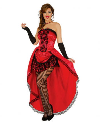 Rot-Schwarzes Burlesque Kleid Betty
