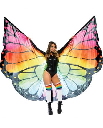 Bunte Schmetterlingsflügel XXXL