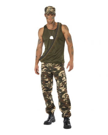 Army Camo Herren Kostüm