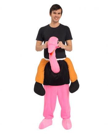 1 x Vogelstrauß Huckepack Kostüm