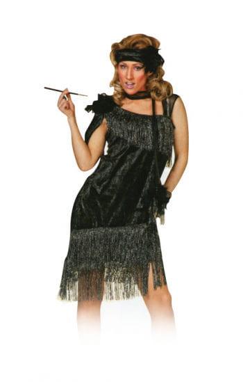 Schwarzes Charleston Kleid