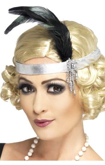 Charleston Headband Silver