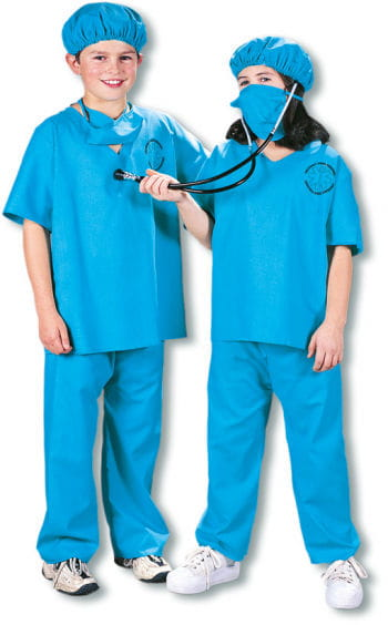 Doktor Kinder Kostüm Gr.S S