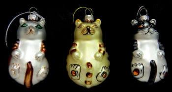 Christmas Ornaments Cat