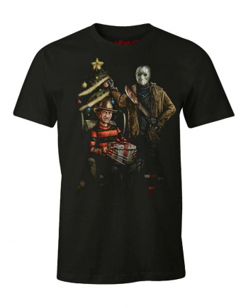 Christmas Freddy & Jason T-Shirt