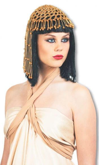 Cleopatra Perücke Deluxe mit Kopfschmuck