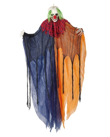Clown Hanging Figure With Light & Sound 170cm