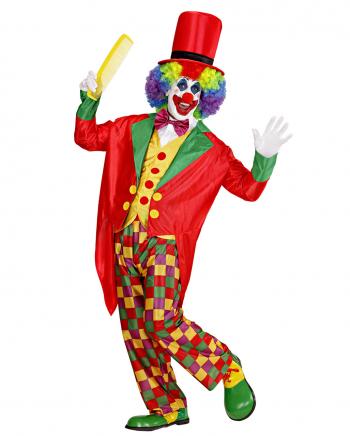 5-piece Clown Costume With Hat