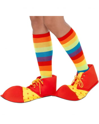 Clown Shoes Red-yellow