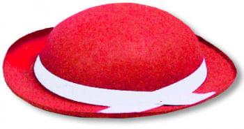 Tyrolean Felt Hat Red