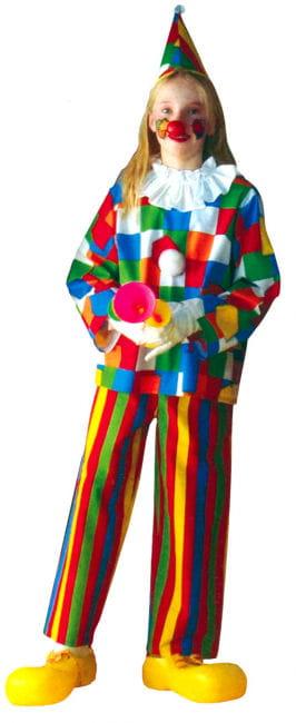 Clown Kinderkostüm 3-teilig