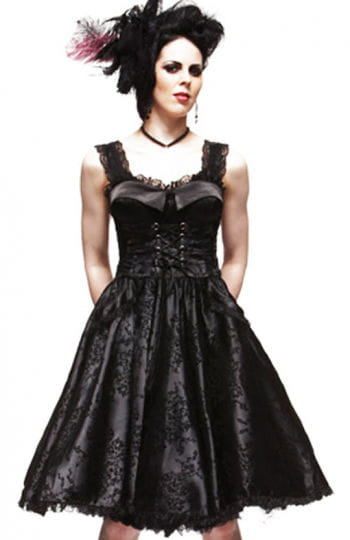 Corsets dress in Lolita style Romatik Black M / 38