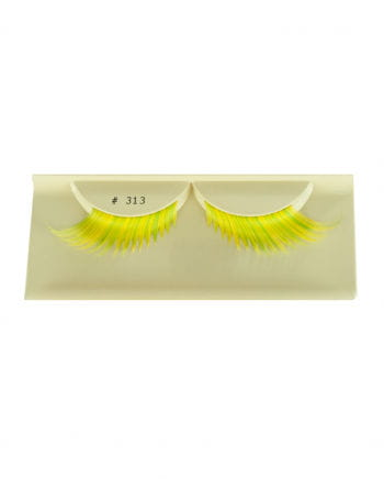 Cosplay Eyelashes Yellow-green