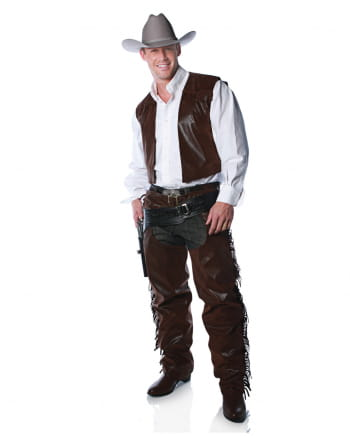 Braune Cowboy Chaps