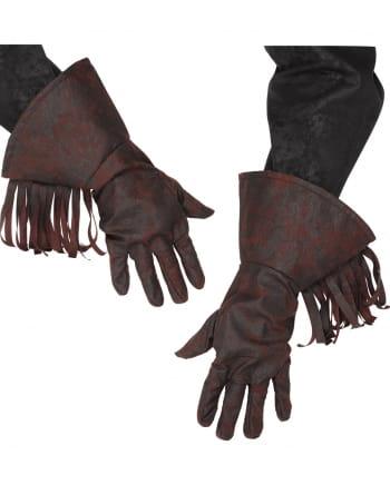 Cowboy gloves brown