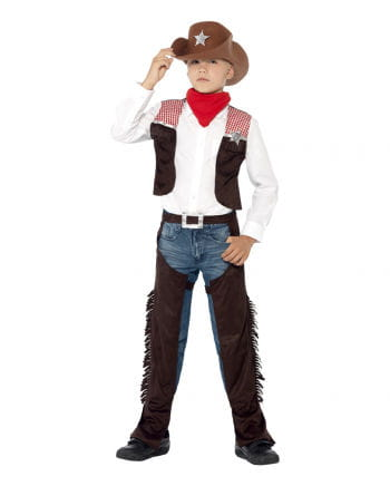 Cowboy Kinderkostüm mit Hut