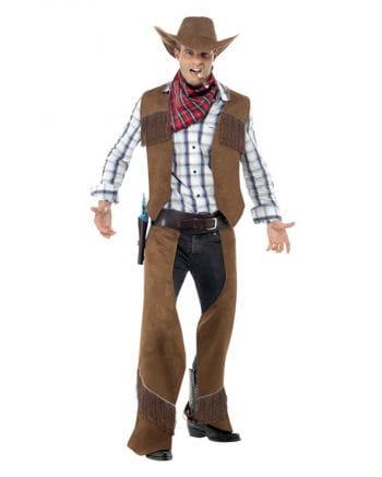 Cowboy Kostüm mit Fransen