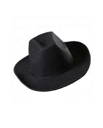 Cowboy felt hat black