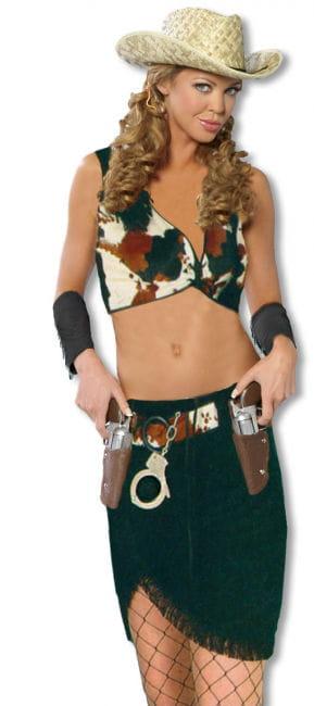 Sexy Cowgirl Kostüm SM S/M 36-38