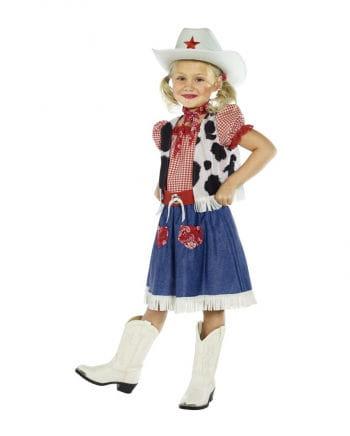 Süßes Cowgirl Kinderkostüm
