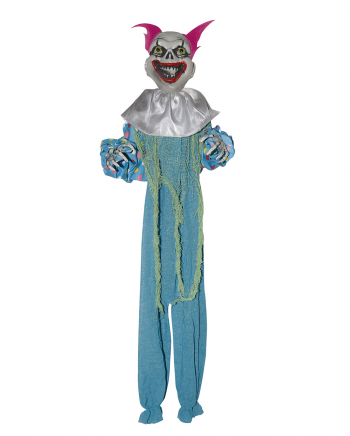 Crazy Clown Dekoration Blau