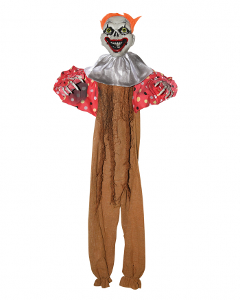 Creepy Clown Decoration Brown