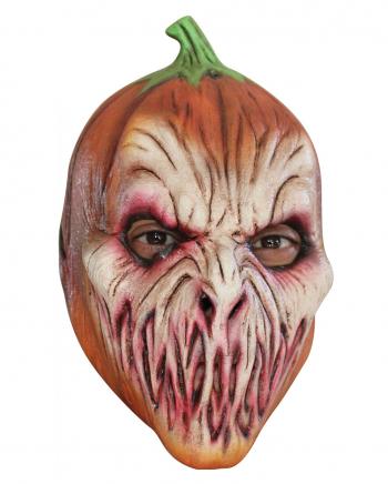 Creepy Pumpkin Latex Kids Mask
