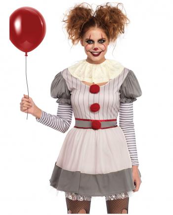 Creepy Horror Clown Minikleid