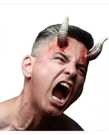 Grey Demon Horns application