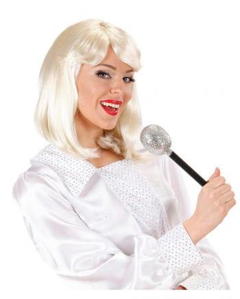 Blonde 70s Popstar Damenperücke
