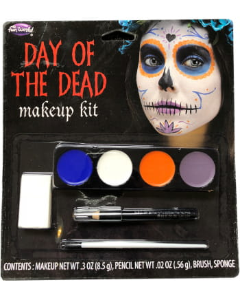 Make-up Kit Day Of The Dead Ladies