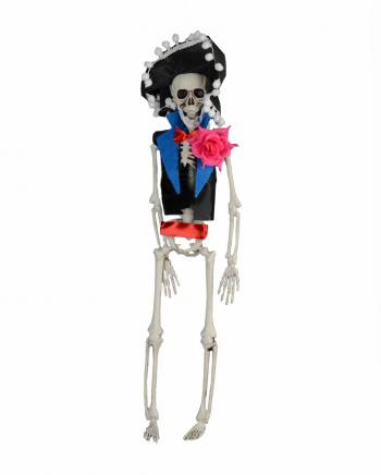 Day Of The Dead Skeleton Groom Hanging Figure