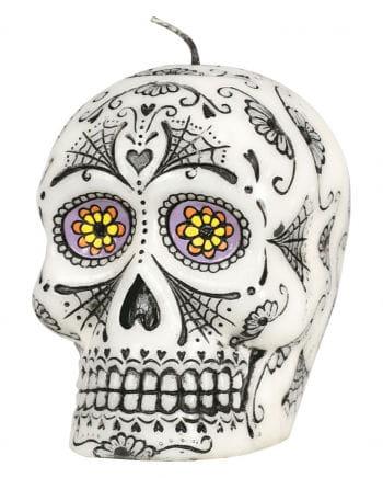 Tag der Toten Sugar Skull Kerze
