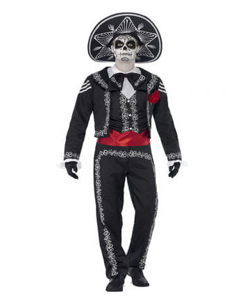 Day of the Dead Groom costume XL