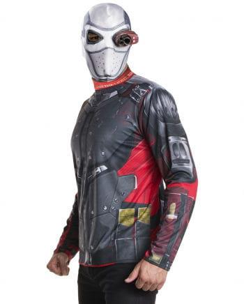 Kostüm Set Deadshot mit Maske
