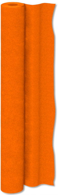 Crepe Paper Roll Orange 50 cm