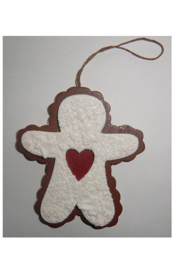 Decorative Cut-Out Cookie Gingerbread Man