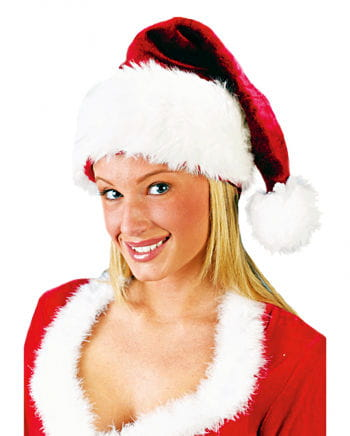 Deluxe Santa Hat of plush