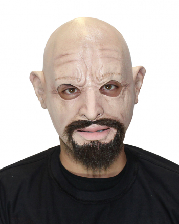 Derek Vollkopf Maske mit Bart