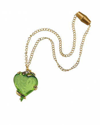 Descendants Mal's Necklace With Heart Pendant