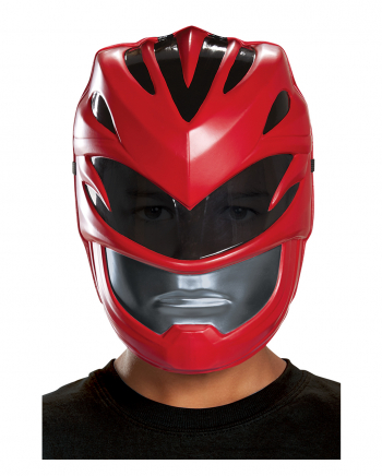 Red Ranger Kinder Halbmaske Power Rangers