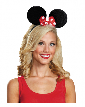 Minnie Mouse Ears For Adults