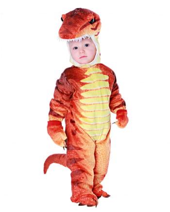 T-Rex Kleinkinderkostüm Rot