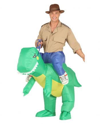 Aufblasbares T-Rex Carry Me Kostüm